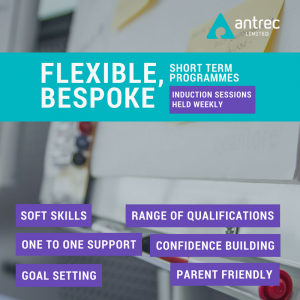 Antrec flexible learning