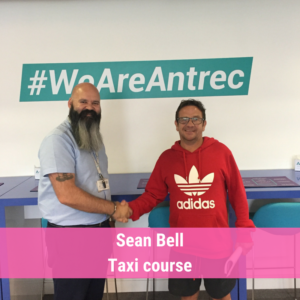 Stars of the week Sean Bell Taxi course