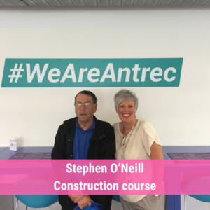Stars of the week Stephen O'Niell Construction course