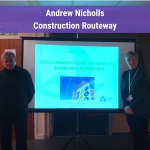 Andrew Nicholls CSCS course