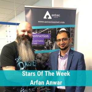 Arfan Anwar Star Of The Week Taxi VRQ