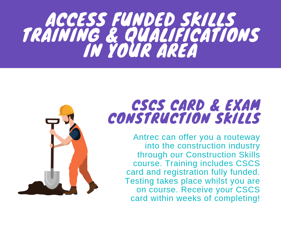 CSCS training in Liverpool, Bootle and Manchester. Training includes Level 1 Health & Safety qualification plus CSCS registration, test and card.