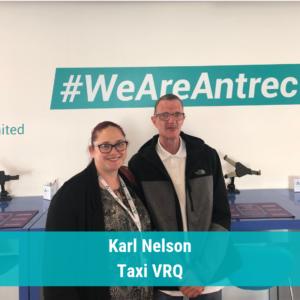 Karl Nelson Taxi VRQ Good news story