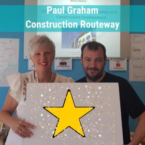 Paul Graham CSCS Construction training course