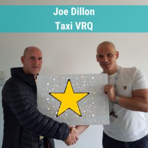 Joe Dillon Taxi VRQ training course
