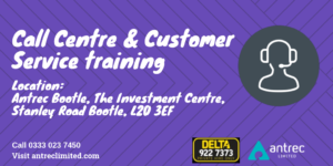 Antrec Call Centre Customer Service Training course Delta Taxi's