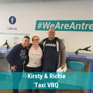 Kirsty & Richie Star of the week Taxi VRQ