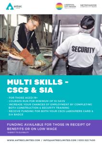 SIA & CSCS training in Liverpool