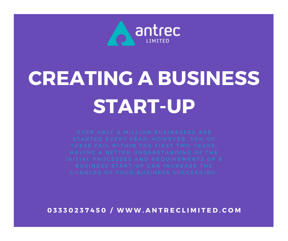 Creating a Business Start-Up Image