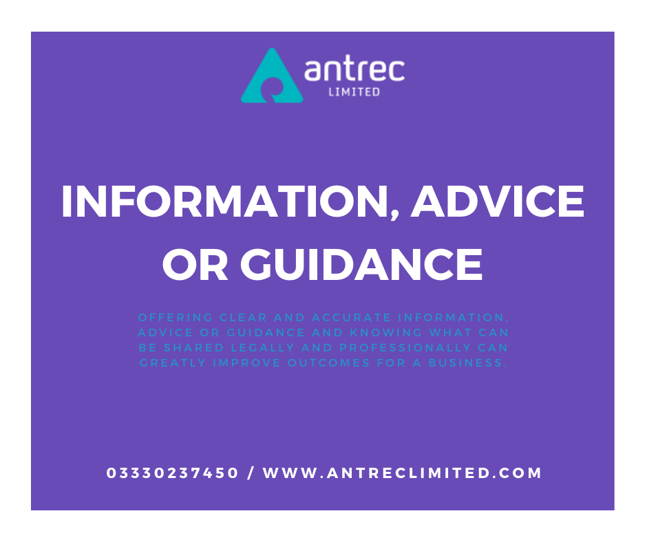Information, Advice or Guidance Image