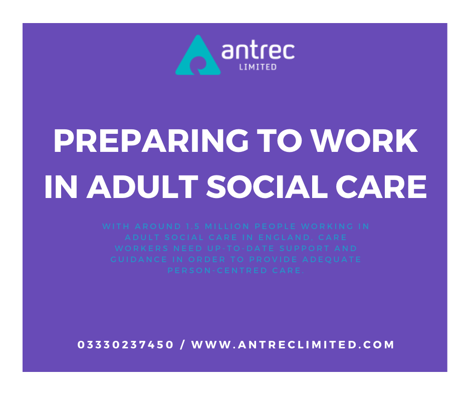 Preparing to work in Adult Social Care Image