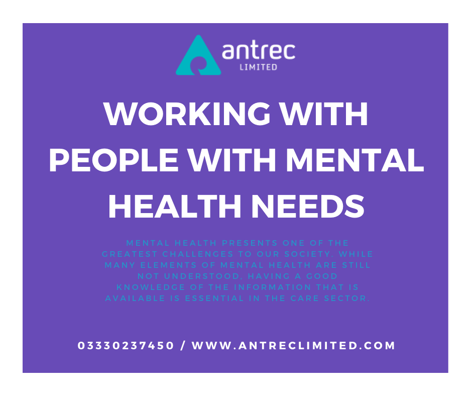 Working with People with Mental Health needs Image