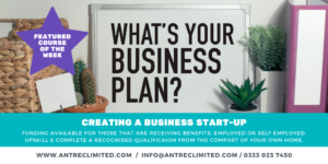 Creating a Business Start-Up funded elearning