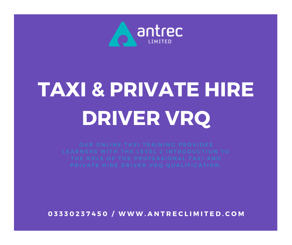 Taxi & Private Hire Driver VRQ Image