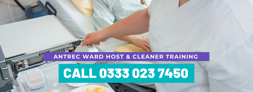 Antrec Ward Host and Cleaner training